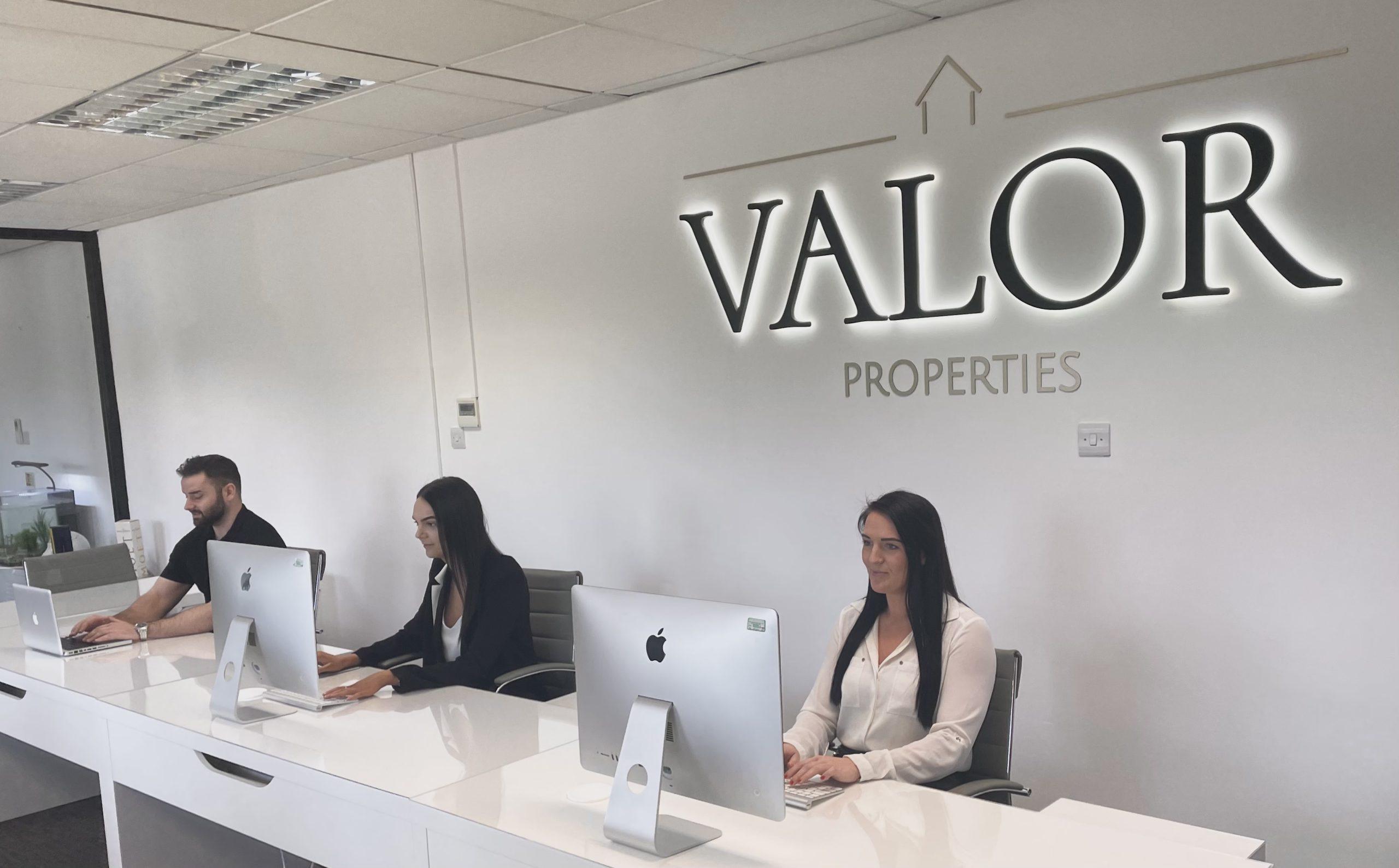 valor properties office